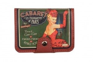 Porte cartes bancaires cabaret de Paris Natives