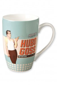 Mug en porcelaine Hubo Goss Natives