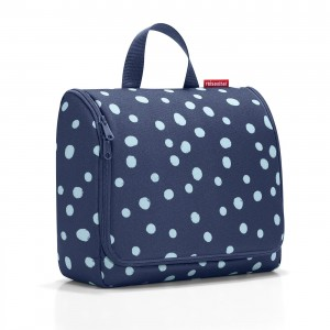Toiletbag XL spots navy - Reisenthel
