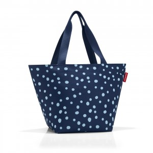Shopper M spots navy - Reisenthel