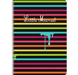 Cahier spirale « Little Marcel » A5 - Clairefontaine