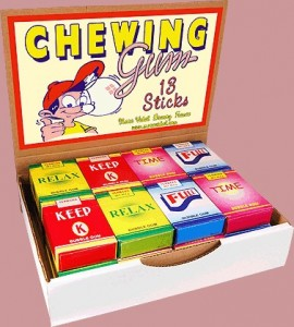 Chewing-Gum 13 sticks - Marc Vidal