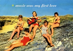 Carte postale « First Love » Bizarr Verlag