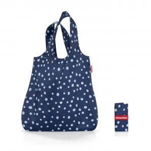 Mini maxi shopper spots navy - Reisenthel