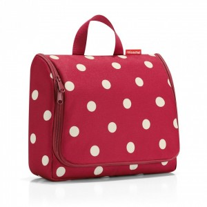 Toiletbag XL ruby dots - Reisenthel