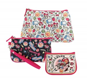 Set 3 pochettes Chupa Chups for ever Natives