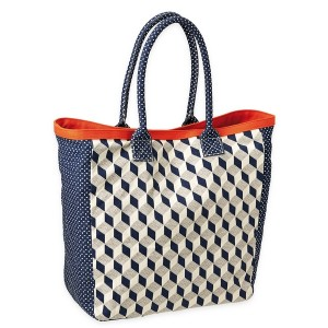 Sac cabas cube Mr and Mrs Clynk