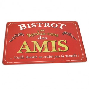 Set de table bistrot des amis Natives
