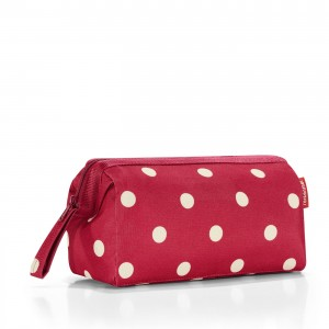Trousse de toilette travelcosmetic ruby dots Reisenthel