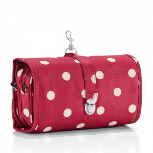 Trousse de toilette wrapcosmetic ruby dots Reisenthel