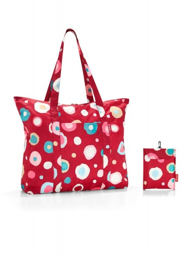 Mini maxi travelshopper funky dots 2 - Reisenthel