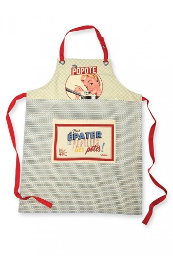 Tablier de cuisine ma popote Natives