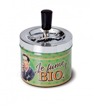 Cendrier poussoir je fume bio Natives