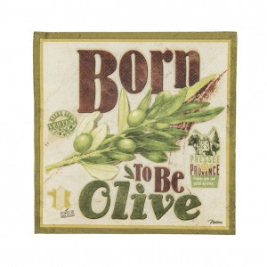 Serviettes en papier born to be olive Natives