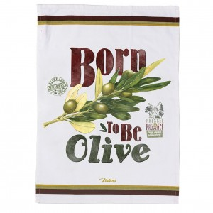 Torchon de cuisine born to be olive Natives