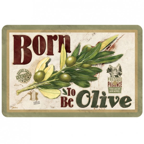 Set de table born to be olive Natives