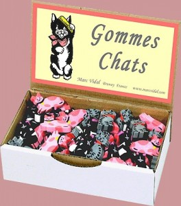 Gomme chat - Marc Vidal