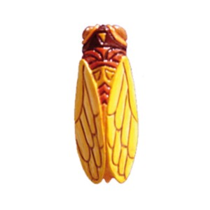 Magnet « Cigale (jaune/orange) » Enesco