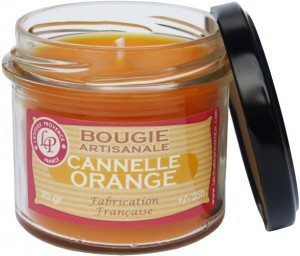 Bougie verrine « Cannelle orange » - Latitude Provence