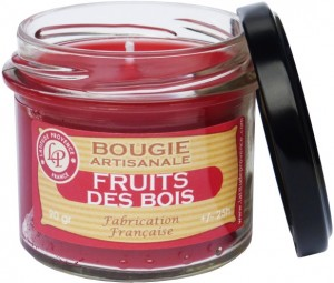 Bougie verrine « Fruits des bois » - Latitude Provence