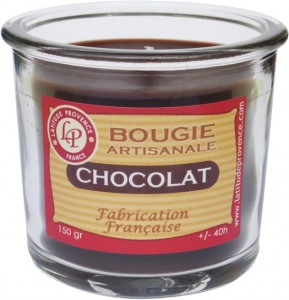 Bougie pot de confiture « Chocolat » - Latitude Provence