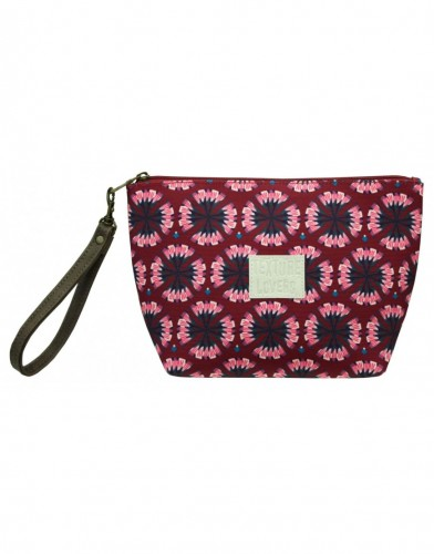 Grande trousse texture lovers Bordeaux Decodelire