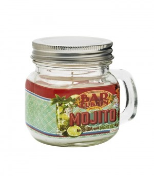 Bougie Mason jar Mojito Cuba Natives