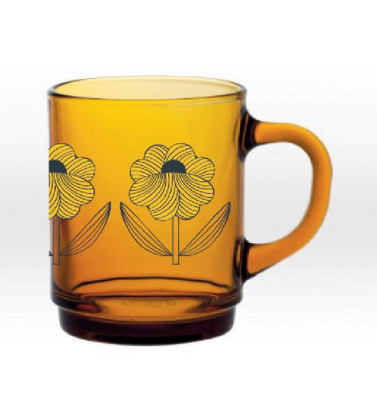 Mug vermeil moon fleur tige Duralex Mr and Mrs Clynk
