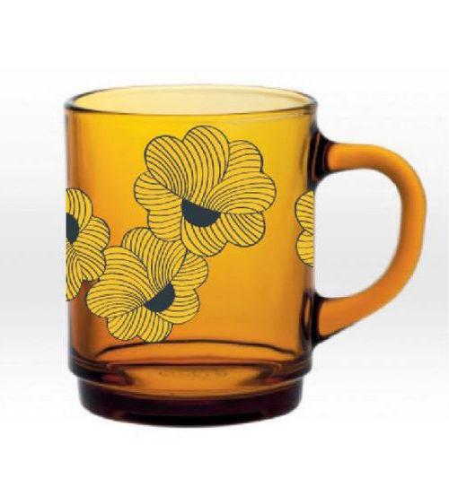 Mug vermeil moon fleur Duralex Mr and Mrs Clynk
