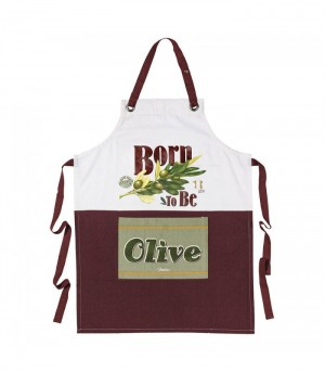 Tablier de cuisine born to be olive Natives