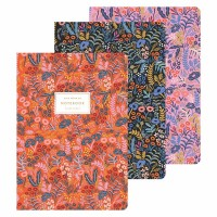 Set de 3 notebooks tapisserie Rifle Paper Co