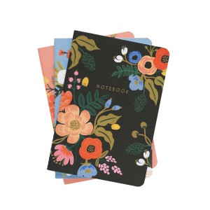 Set de 3 notebooks lively floral Rifle Paper Co