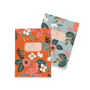 Set de 2 notebooks birch Rifle Paper Co
