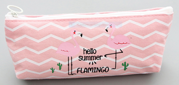 Trousse flamant rose cactus 4 Kawaii culture
