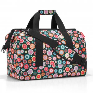 Sac de voyage allrounder L happy flowers Reisenthel