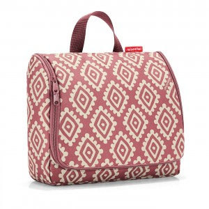 Trousse de toilette toiletbag XL diamonds rouge Reisenthel