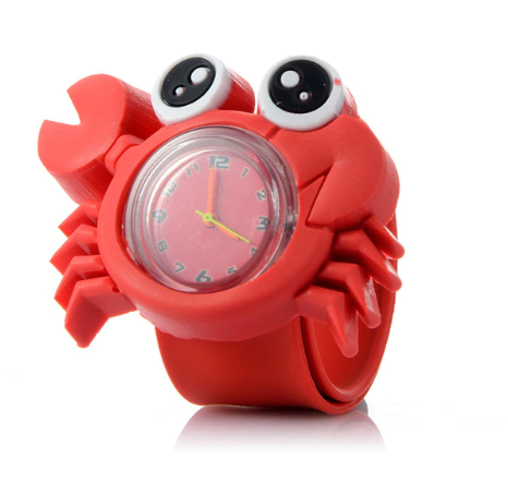 Montre enfant crabe kawaii culture