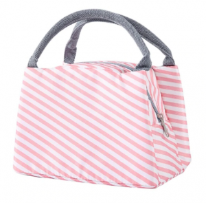 Lunch bag sac isotherme rayé Kawaii culture