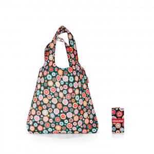 Mini maxi shopper spots happy flowers Reisenthel