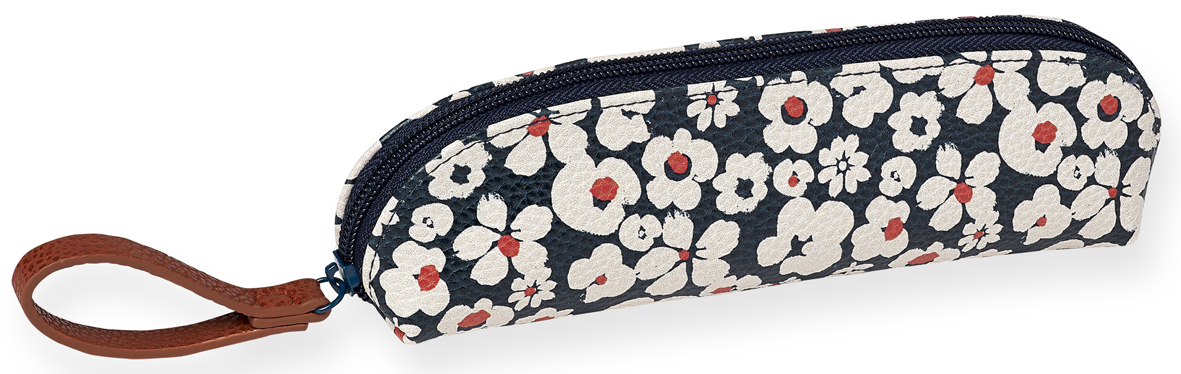 Trousse fleurs blanches Mr and Mrs Clynk