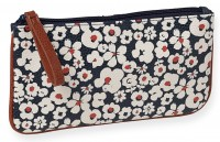Trousse cosmétique fleurs blanches Mr and Mrs Clynk