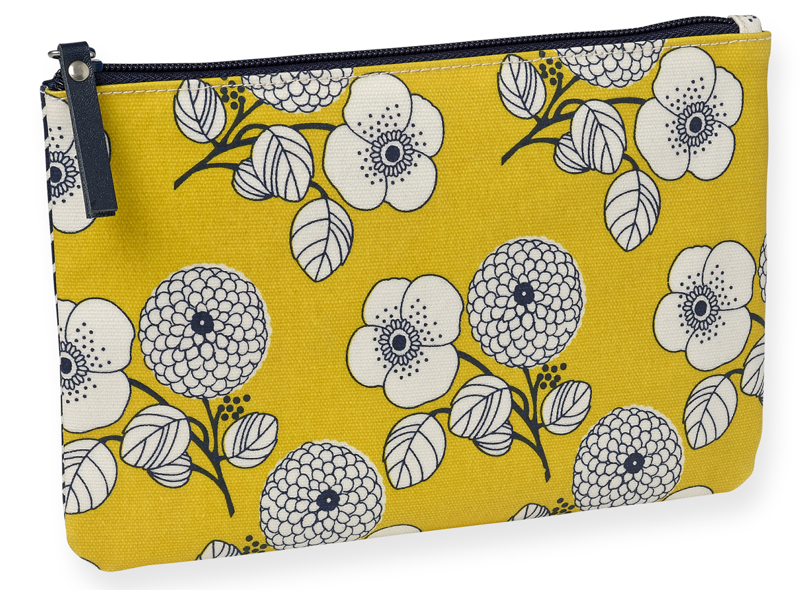 Trousse enduite fleurs blanches Mr and Mrs Clynk