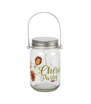 Lampe LED mason jars chérie party Natives