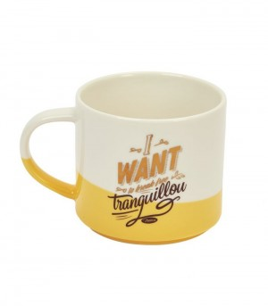 Mug en porcelaine bicolore break free Natives