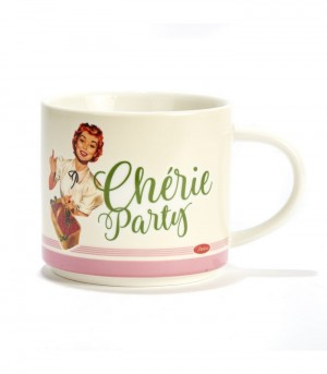 Mug en porcelaine chérie party Natives