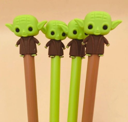Stylo gel d'encre Yoda Kawaii culture