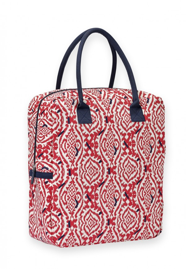 Sac week end ikat rouge Mr and Mrs Clynk