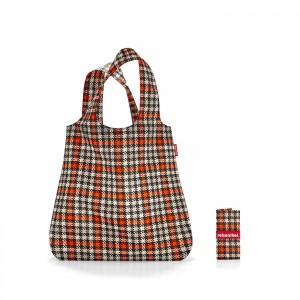 Mini maxi shopper spots glencheck red Reisenthel