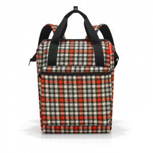 Allrounder sac à dos R large glencheck red Reisenthel