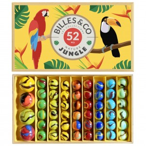 Coffret de billes jungle Billes and Co
